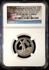 2016 S Proof Fort Moultrie Quarter, NGC PF 69 Ultra Cameo, Baltimore Show!