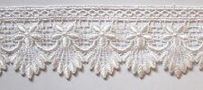 1mtrs - Guipure Scalloped White Lace Trimming 5.5cm