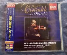 David Oistrakh Mozart Sinfonia Concerto K.364 Japan Promo CD - Brand New