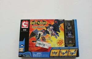 DC Comics Art Asylum C3 Construction Batman Batglider with Minimates NIB