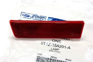 OEM NEW Rear Left Driver Corner Marker Reflector Red Transit Connect 9T1Z15A201A