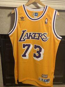 Adidas Hardwood Dennis Rodman Lakers Jersey M Swingman Mitchell Ness Nike HWC