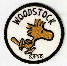 Woodstock Snoopy's Friend Round Embroidered Iron On / Sew On Patch