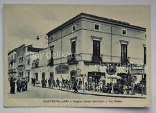 CASTROVILLARI Gran Caffè QUAGLIO animata Cosenza vecchia cartolina