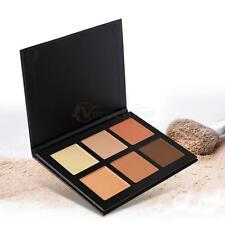 6 Colors Face Cream-Contour Kit Concealer Palette Bronzer Highlighter Makeup New