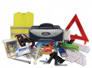 NEW OEM Ford Roadside Assistance Kit - Emergency Supplies F150 Explorer Fusion