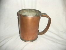 Trench art copper jug ?