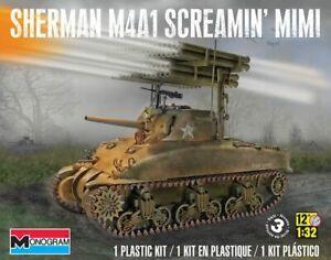 Revell 7863 Sherman M4A1 Screaming Mimi 1:32 NIB Free Shipping