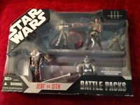 Star Wars Revenge of the Sith III Battle Packs Jedi vs. Sith - New!
