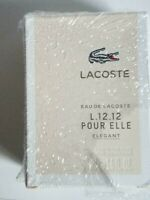 Lacoste Eau de Lacoste L.12.12 Pour Elle Elegant for Women 1.6 oz EDT Spray