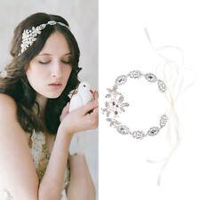 Women Bride Rhinestone Head Chain Headband Head Piece Hair band Jewelry
