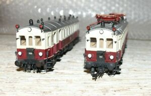 G21  Günther 468 Basis Roco Triebwagen ET 85 mit Steuerwagen 486/1 468/s ergän