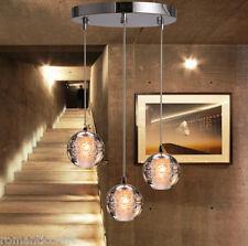 3 Head LED Crystal Meteor shower Pendant Light Ceiling Hanging Lamp Chandelier