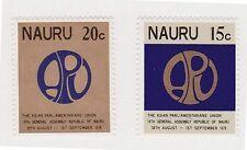 (JH-3) 1976 Nauru 2set14th Asia pacific union MUH (C)