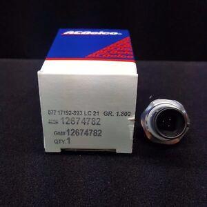 ACDELCO OE SERVICE D1800C Switch, Oil Pressure GM 12674782 GUARANTEED ACDELCO