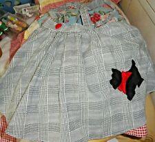 VINTAGE Girl or  DOLL Poodle (Scottie) skirt CUTE 24 Months CUTE
