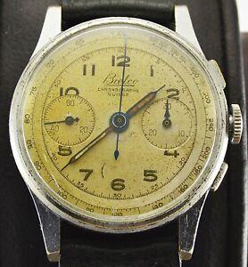 Vintage Bielco Chronograph Men watch Swiss Made Landeron 48 cal.