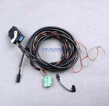 BT Bluetooth Microphone+Plug Wiring Harness Cables 9W2 9W7 For VW RCD510 RNS510