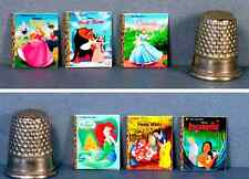 Dollhouse Miniature 1::12 Six Little Golden Books  Disney Princess Covers