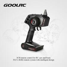 GoolRC TG3 2.4GHz 3CH Control Transmitter with Receiver for RC Car Boat I4F1