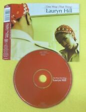 CD Singolo LAURYN HILL Doo Wop (That Thing) EUROPE COL 665692 2 COLUMBIA (S18)