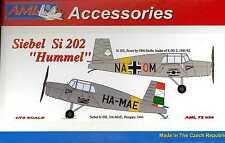 AML Models 1/72 German SIEBEL Si-202 HUMMEL