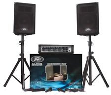 PEAVEY Audio Performer Pack Portable PA System Ships FREE to Domestic US States