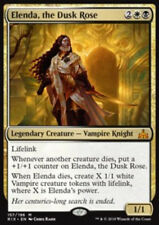 MTG ELENDA, THE DUSK ROSE EXC - ELENDA, LA ROSA DEL VESPRO - RIX - MAGIC