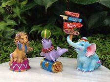 Miniature Dollhouse FAIRY GARDEN Candy CARNIVAL Set 3 Animals Elephant Lion Seal