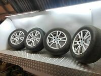 "BMW X3 E83 2.0D N47 2008 Roues Alliage - Set 17 "" 17 INCH"