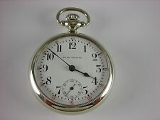 Antique 18s Seth Thomas pocket watch made in 1890. Beautiful 2-tone 17j movement