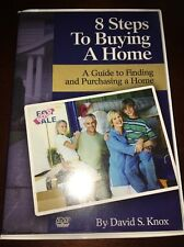 DAVID KNOX 8 Steps To Buying A Home DVD Real Estate Training Career Purchase