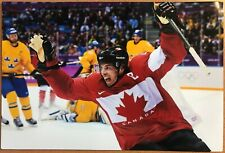 Sidney Crosby #87 Arms UP Team Canada 2014 Olympic Gold Medal  8x12 Lab printed