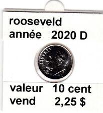 pièces de 10 cent  rooseveld de 2020 D