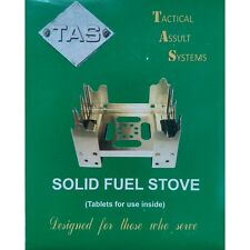 TAS Solid Fuel Stove Camp Cooking Stove Includes x8 Fuel Tablets!! Hexamine Army