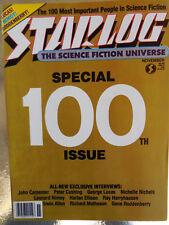Starlog Magazine Number 100   November1985 FREE SHIPPING