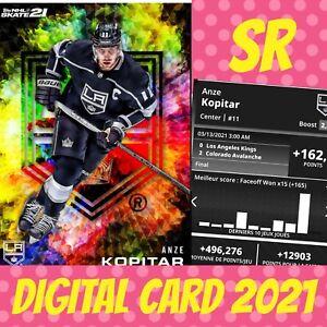 Topps NHL Skate Anze Kopitar Glory Rainbow Base 2021 digital Card