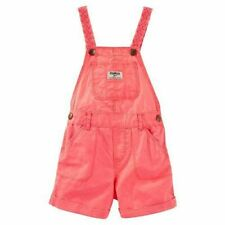 OSHKOSH 1 PIECE OVERALL SHORTS - Summery Orange - 18  -...