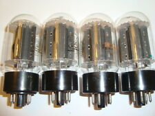 A Matched Quad of RCA 6L6GC Tubes, Good Ratings, A Real Gem