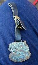 Oil Pull Tractor Watch Fob Antique Advance Rumley Light Weight
