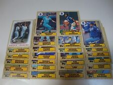 Bo Jackson,George Brett, 1987 Topps  Royals 25 Card Team Set