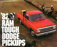 Dodge Ram Pick-up 1982 USA MARKET sales brochure D150 D250 D350 W150 W250 W350