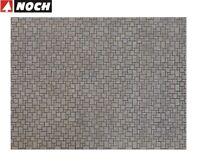 """NOCH H0 56722 3D-Kartonplatte/Mauerplatte """"Modernes Pflaster"""" (1m² - 57,28€) NEU"""
