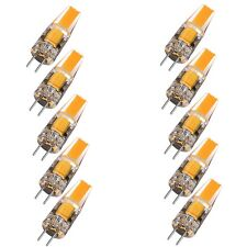 10x G4 2W EPISTAR AC DC 12V Dimmable LED COB Bulb Light Replace Halogen Lamp