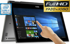 "DELL 15.6"" Full-HD TouchScreen Intel i7-8550U 8GB 1TB Convertible 2-in-1 Laptop"