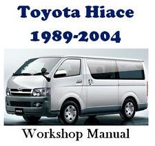 TOYOTA HIACE 1989 - 2004 PETROL & DIESEL WORKSHOP MANUAL DIGITAL DOWNLOAD