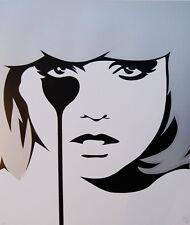 Pure EVIL chris stein's cauchemar Blondie Debbie Harry @ dismaland 4 Banksy MINT