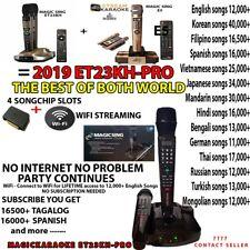 """New Magic Sing ET23KH-Pro Wireless Karaoke """"Buy Yours Now"""""""