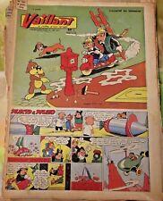VAILLANT N°583  15/07 1956 Placid & Muzo Pompiers sur scouteur