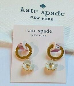 KATE SPADE CLASSIC Zircon STUD EARRINGS Gold